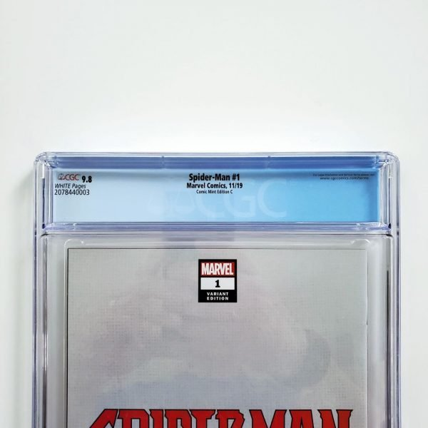 Spider-Man #1 CGC 9.8 NM/M Comic Mint Variant C Back Label
