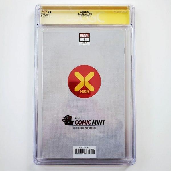 X-Men (2019) #4 CGC SS 9.8 NM/M Comic Mint Virgin Variant Back