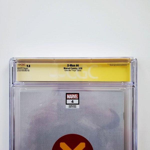 X-Men (2019) #4 CGC SS 9.8 NM/M Comic Mint Virgin Variant Back Label