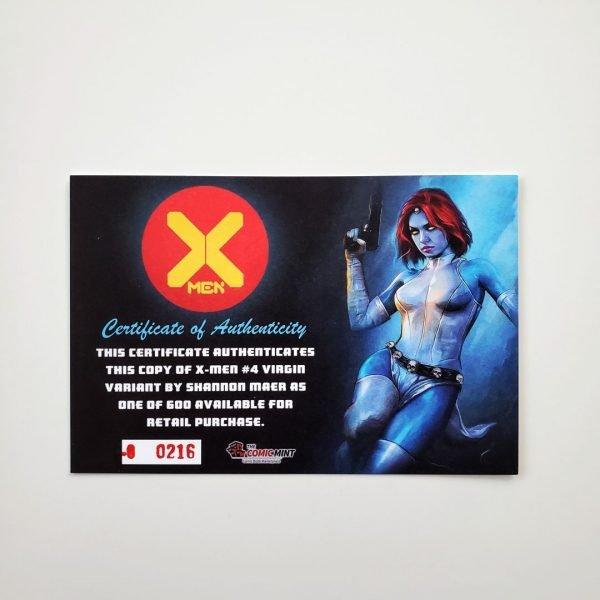 X-Men (2019) #4 CGC SS 9.8 NM/M Comic Mint Virgin Variant COA