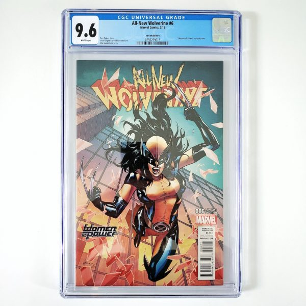 All-New Wolverine #6 CGC 9.6 NM+ Women of Power Variant Front