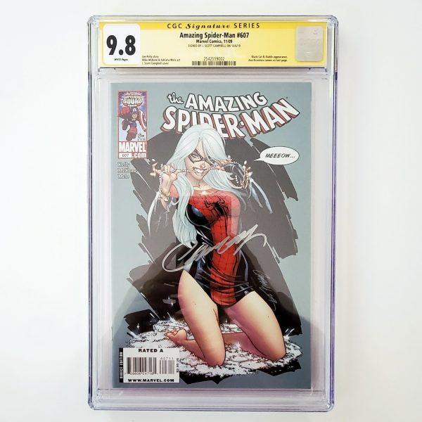 Amazing Spider-Man #607 CGC SS 9.8 NM/M Front