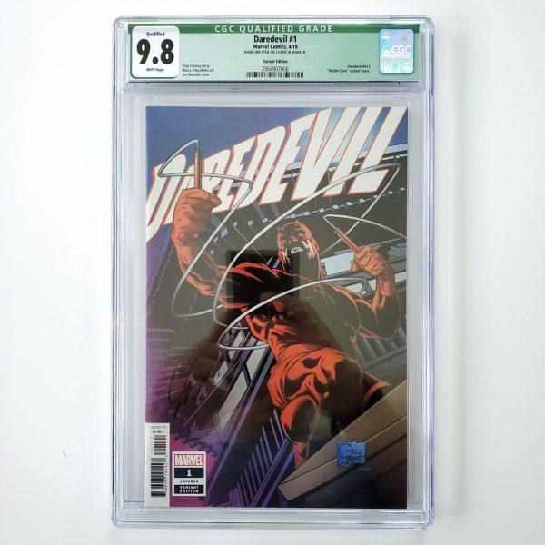 Daredevil (2019) #1 CGC Q 9.8 NM/M Quesada Variant Front