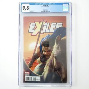 Exiles #9 CGC 9.8 NM/M Rahzzah Valkyrie Variant Front