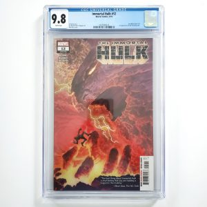 Immortal Hulk #12 CGC 9.8 NM/M Front