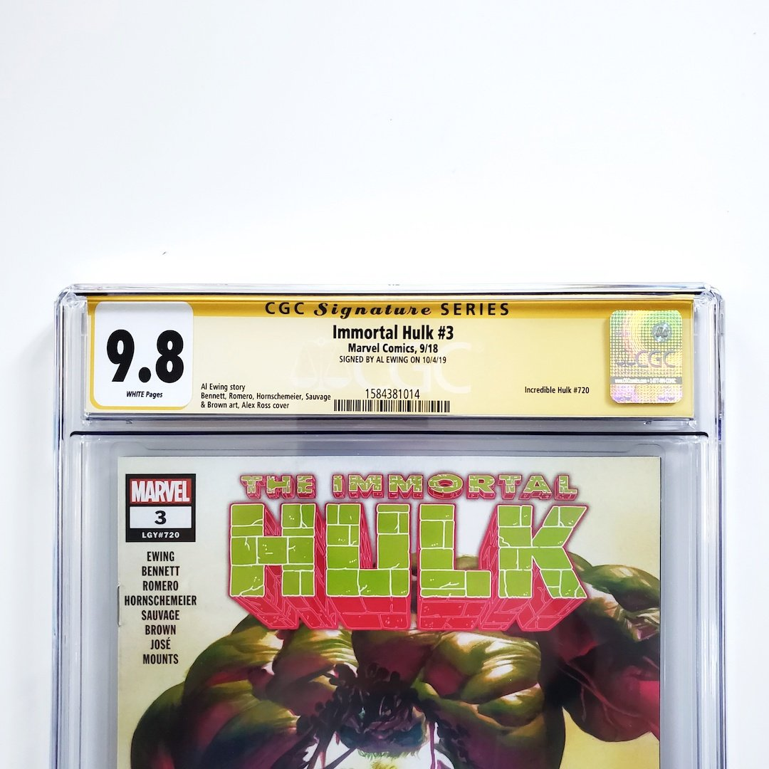 IMMORTAL HULK #43 CGC Graded 9.8 Marvel Comics PRESALE 2//3//21