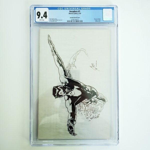 Invaders #1 CGC 9.4 NM Quesada Sketch Variant Front
