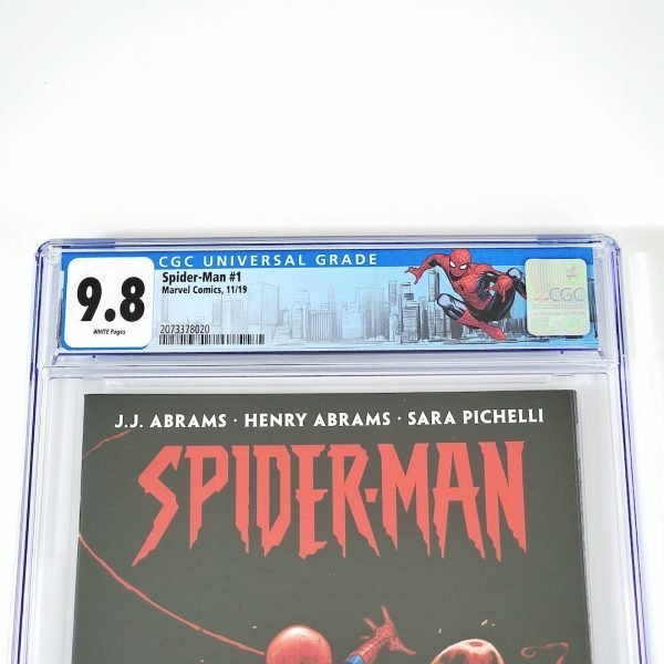 Spider-Man (2019) #1 CGC 9.8 NM/M Front Label