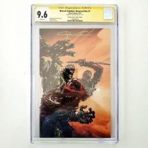 Marvel Zombies: Resurrection #1 CGC SS 9.6 NM+ Scorpion Comics Virgin Variant Front
