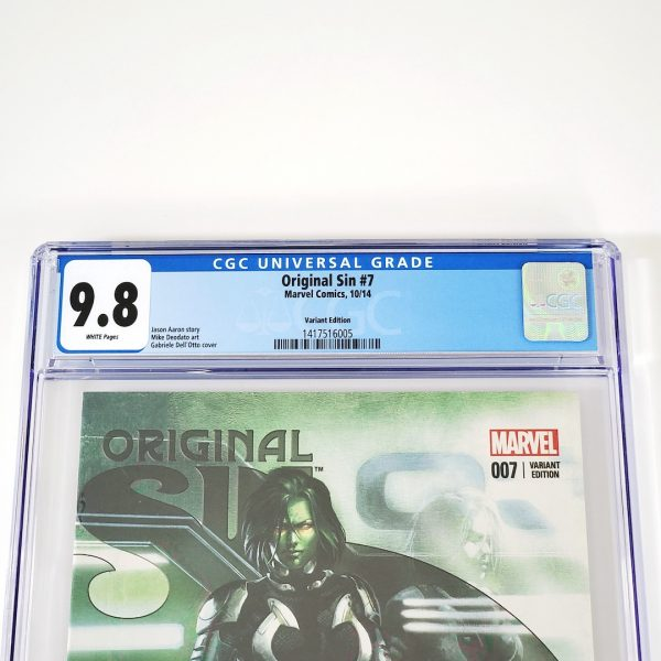 Original Sin #7 CGC 9.8 NM/M Dell'Otto Variant Front Label