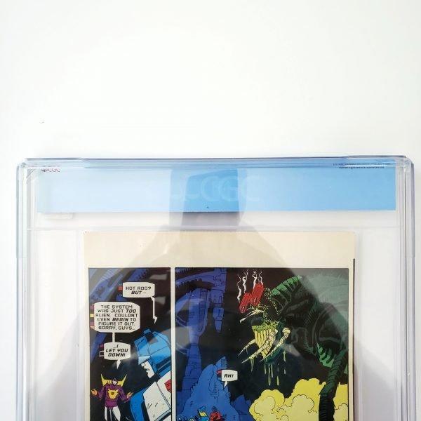 Transformers: Generation 2 #nn CGC 9.8 NM/M Halloween Special Edition Back Label