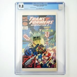 Transformers: Generation 2 #nn CGC 9.8 NM/M Halloween Special Edition Front