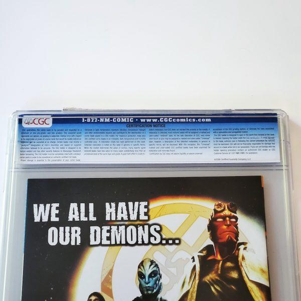 All Star Batman & Robin #10 CGC 9.4 NM Recalled Edition Back Label