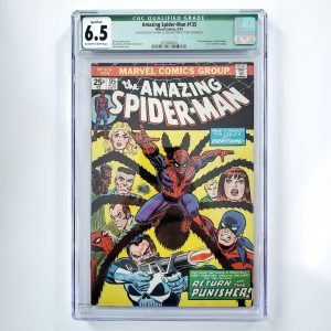Amazing Spider-Man #135 CGC Q 6.5 FN+ Front