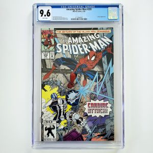 Amazing Spider-Man #359 CGC 9.6 NM+ Front