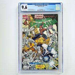 Amazing Spider-Man #360 CGC 9.6 NM+ Front