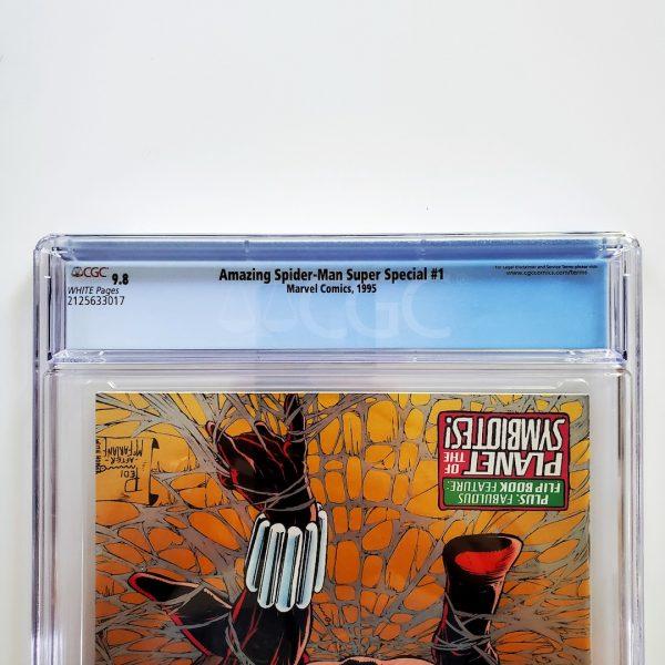 Amazing Spider-Man Super Special #1 CGC 9.8 NM/M Back Label