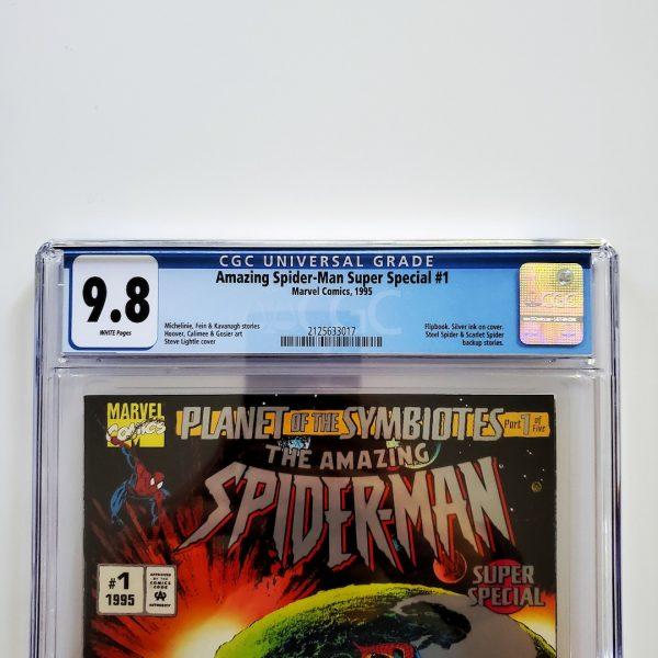 Amazing Spider-Man Super Special #1 CGC 9.8 NM/M Front Label