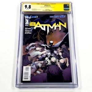 Batman (2011) #1 CGC SS 9.8 NM/M Front