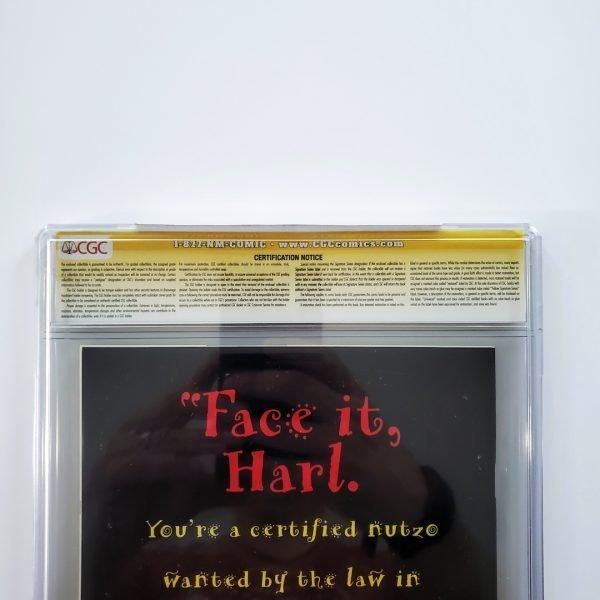 Batman Adventures: Mad Love CGC SS 9.8 NM/M Back Label