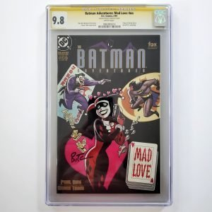 Batman Adventures: Mad Love CGC SS 9.8 NM/M Front