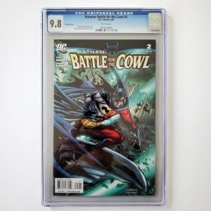Batman: Battle for the Cowl #2 CGC 9.8 NM/M Front