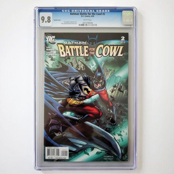 Batman: Battle for the Cowl #2 CGC 9.8 NM/M Front