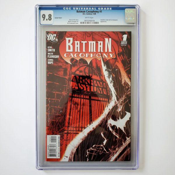 Batman Cacophony #1 CGC 9.8 NM/M Variant Front
