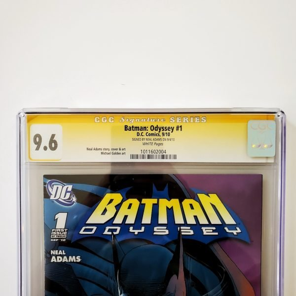 Batman: Odyssey #1 CGC SS 9.6 NM+ Front Label