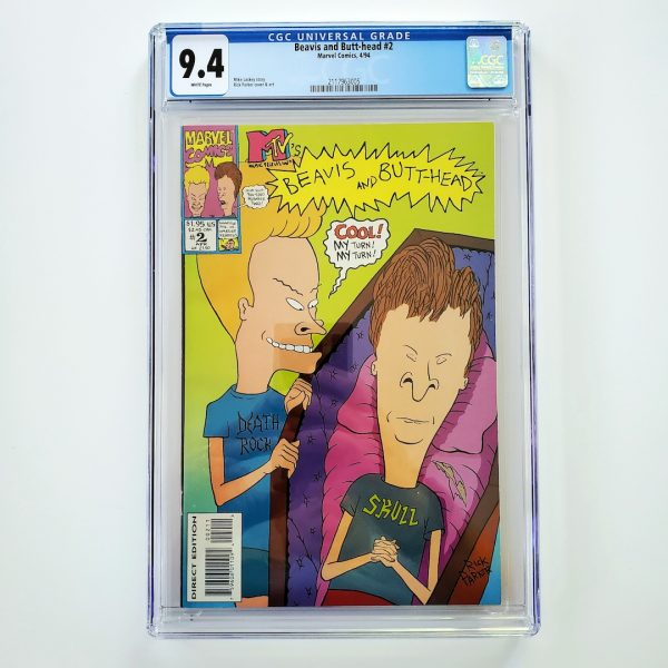Beavis and Butt-head #2 CGC 9.4 NM Front