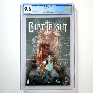 Birthright #1 CGC 9.6 NM+ Front