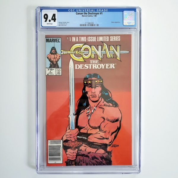 Conan the Destroyer #1 CGC 9.4 NM Front
