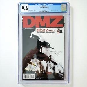 DMZ #1 CGC 9.6 NM+ Front