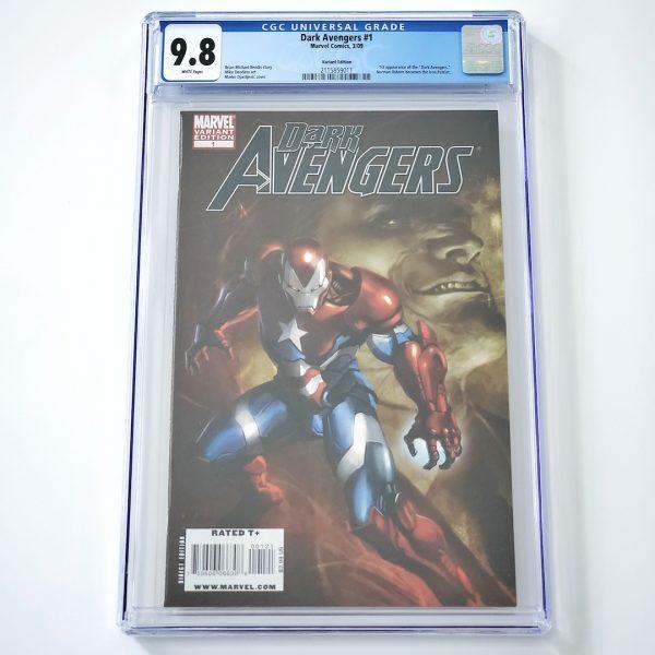 Dark Avengers #1 CGC 9.8 NM/M Djurdjevic Variant Front