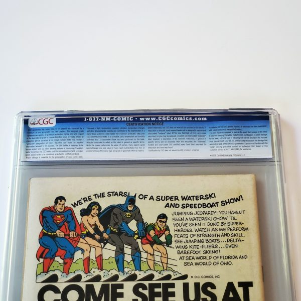 Detective Comics #472 CGC 5.0 VG/FN Back Label
