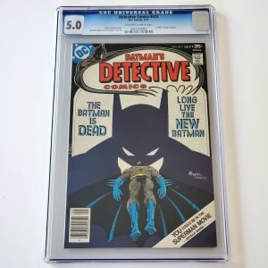 Detective Comics #472 CGC 5.0 VG/FN Front