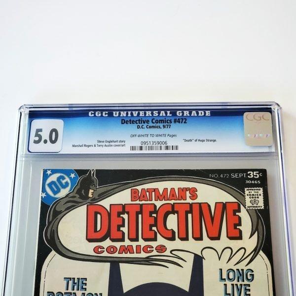 Detective Comics #472 CGC 5.0 VG/FN Front Label