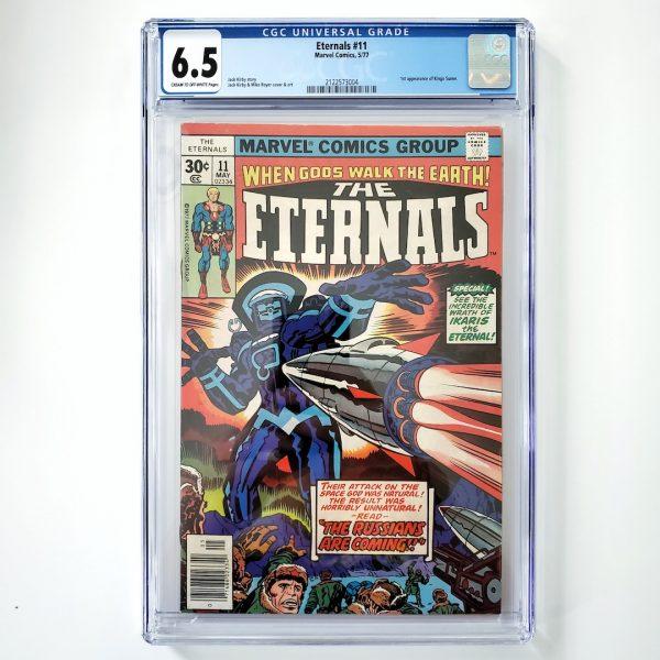 Eternals #11 CGC 6.5 FN+ Front