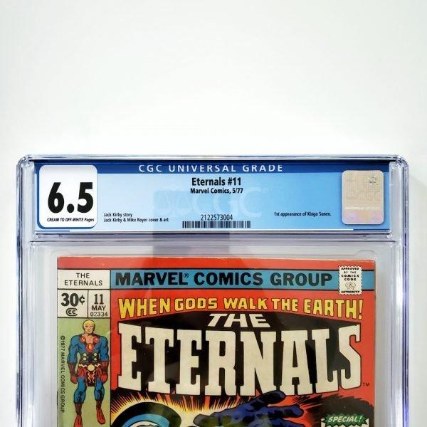 Eternals #11 CGC 6.5 FN+ Front Label