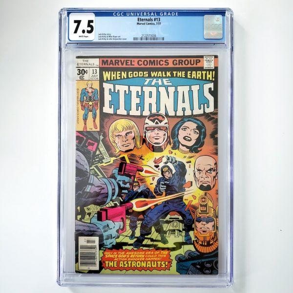 Eternals #13 CGC 7.5 VF- Front