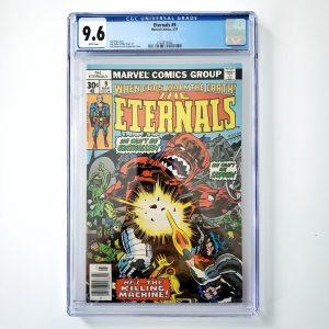 Eternals #9 CGC 9.6 NM+ Front