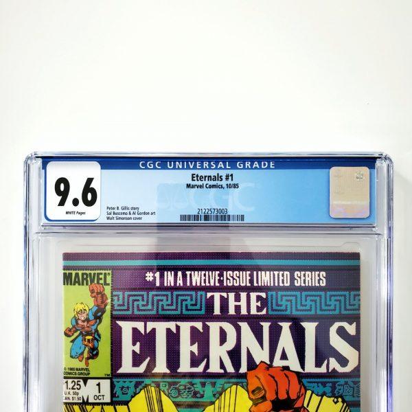 Eternals (Vol. 2) #1 CGC 9.6 NM+ Front Label