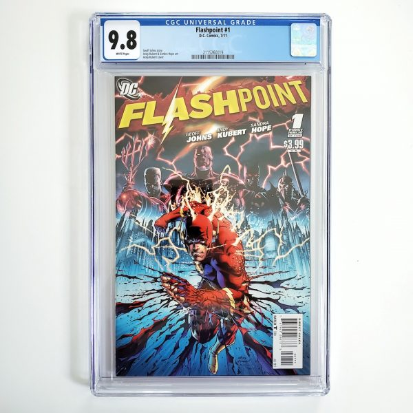 Flashpoint #1 CGC 9.8 NM/M Front