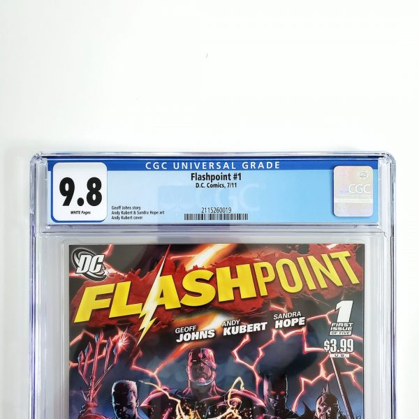 Flashpoint #1 CGC 9.8 NM/M Front Label
