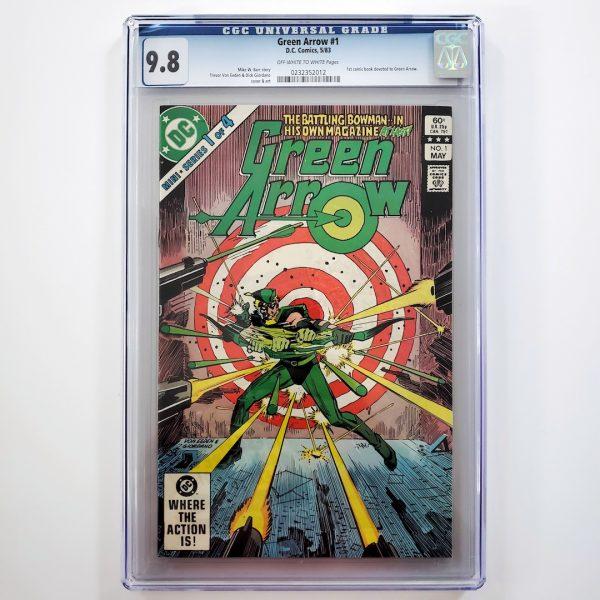 Green Arrow #1 CGC 9.8 NM/M Front