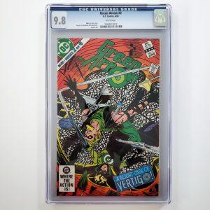 Green Arrow #2 CGC 9.8 NM/M Front
