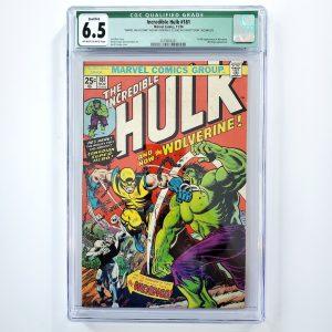 Incredible Hulk #181 CGC Q 6.5 VF+ Front