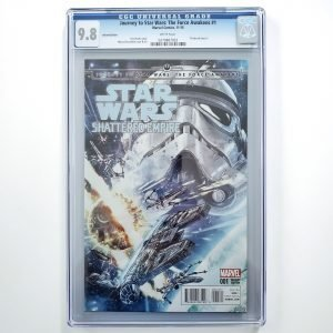 Journey to Star Wars: The Force Awakens #1 CGC 9.8 NM/M Variant Front
