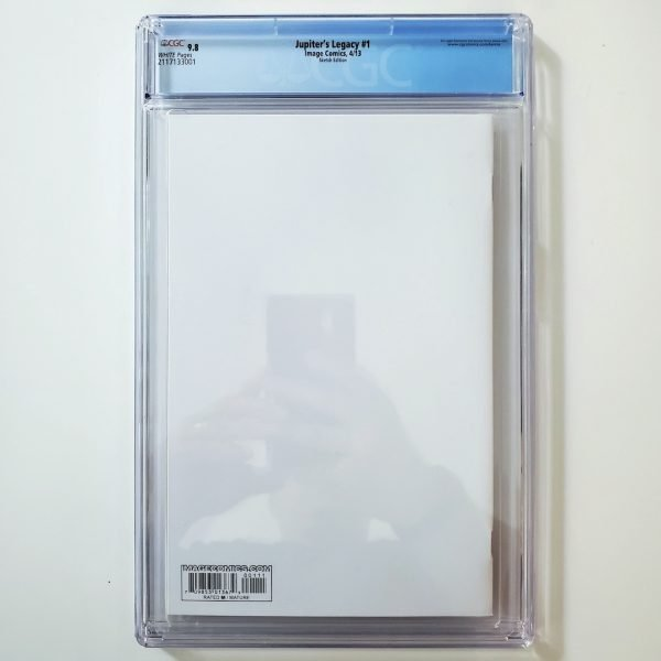 Jupiter's Legacy #1 CGC 9.8 NM/M Sketch Edition Back