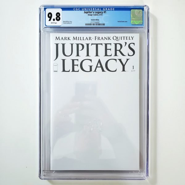 Jupiter's Legacy #1 CGC 9.8 NM/M Sketch Edition Front